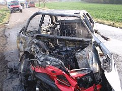 Na Konicku se bouralo, při srážce dvou aut utrpěli tři lidé zranění.