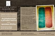 Galerie umění v Prostějově - výstava Jaroslava Bílého