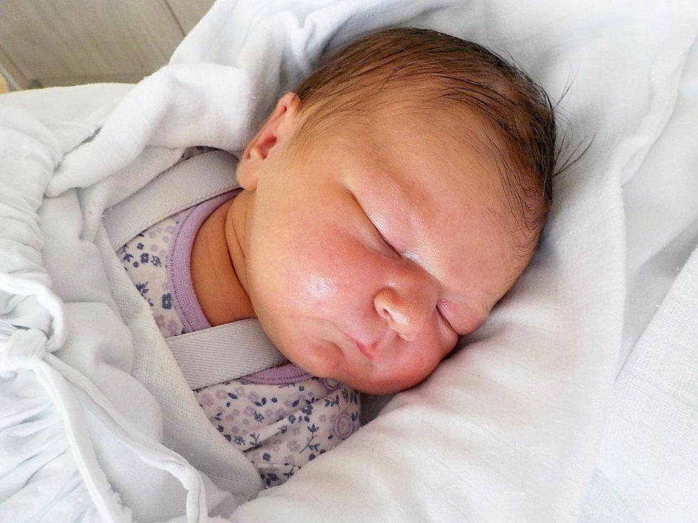Thea Palacká, Čehovice, narozena 28. února 2021 v Prostějově, míra 52 cm, váha 4400 g