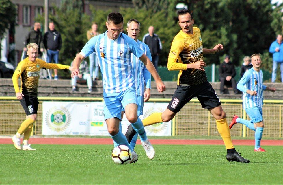 Utkání FNL: FK Baník Sokolov - 1. SK Prostějov 3:0