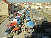Stávající tržnice v centru města