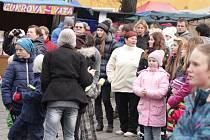 Už jednadvacátý roční Vánočních trhů uspořádali v sobotu v Konici. Program byl již tradičně plný hudby, vánočních vůní a především dobré nálady.