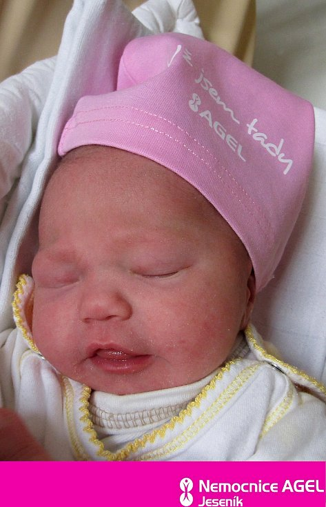 Mia Bednaříková, Jeseník, narozena 22. února 2021