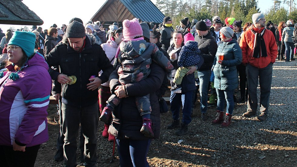 Novoroční výšlap na Velký Kosíř, 1.1. 2020