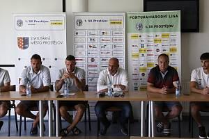 Tisková konference 1. SK Prostějov před starte sezony FORTUNA:NÁRODNÍ LIGY.