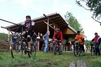 Na kole z apoznáním Olomouckého kraje – start v Prostějovičkách.
