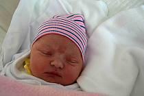 Štěpánka Opluštilová, Smržice, narozena 12. listopadu 2019 v Prostějově, míra 52 cm, váha 3700 g