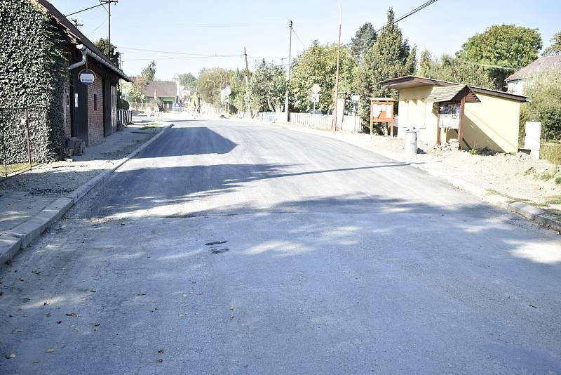 Rekonstrukce průjezdu Ochozí, 5.10. 2021