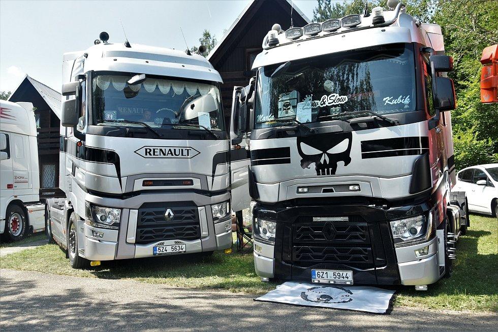 Van & Truck Show 2021 v plumlovském kempu Žralok, 24. 7. 2021