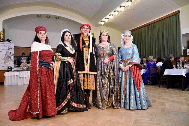 XXX. Tradiční městský ples odstartoval velké oslavy 630.výročí od povýšení Prostějova na město