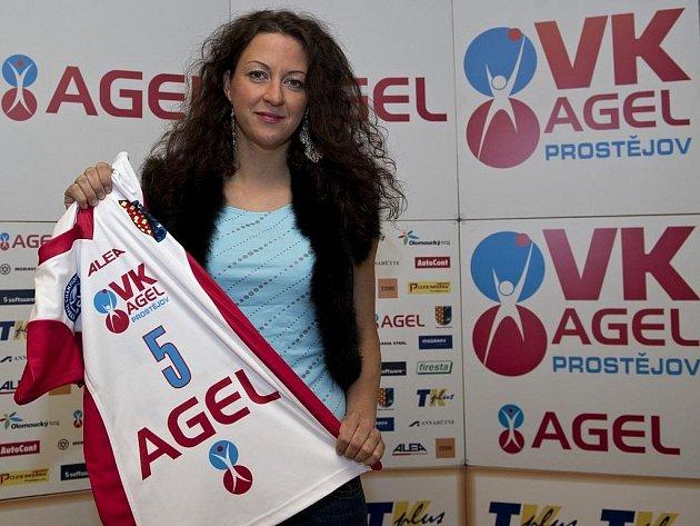 Prostějovské volejbalistky hrají od čtvrtka 16.2.2012 pod novým názvem VK AGEL Prostějov