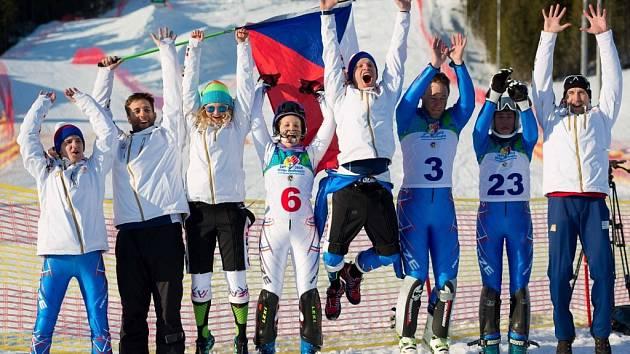 Neslyšící lyžař Martin Látal z Prostějova hájil na zimní deaflympiádě v Rusku barvy České republiky.