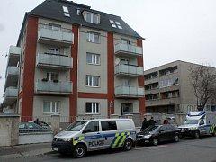 Bytový dům, ve kterém došlo k přepadení tenistky Petry Kvitové.