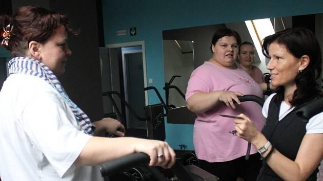 Hubneme s Deníkem - cvičení soutěžících v prostějovském studiu H.E.A.T.