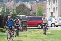 Na kole za poznáním Olomouckého kraje. V cíli v Krumsíně