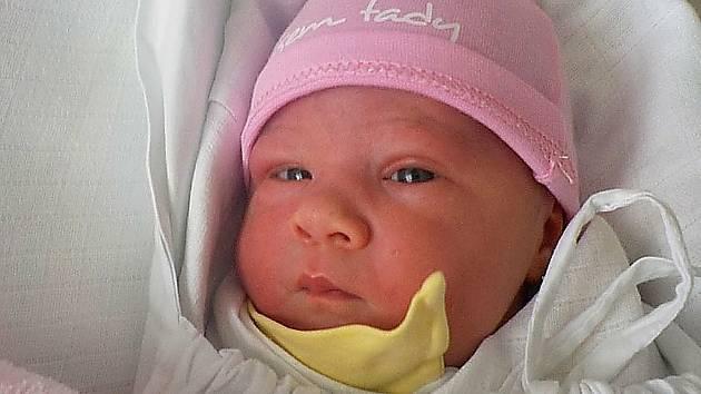 Ema Šikutová, Otaslavice, narozena 3. dubna 2021 v Prostějově, míra 50 cm, váha 3250 g