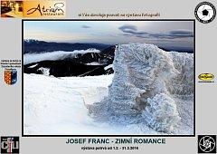 Pozvánka na výstavu - Zimní romance