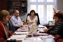 Zasedání městské rady v Němčicích nad Hanou