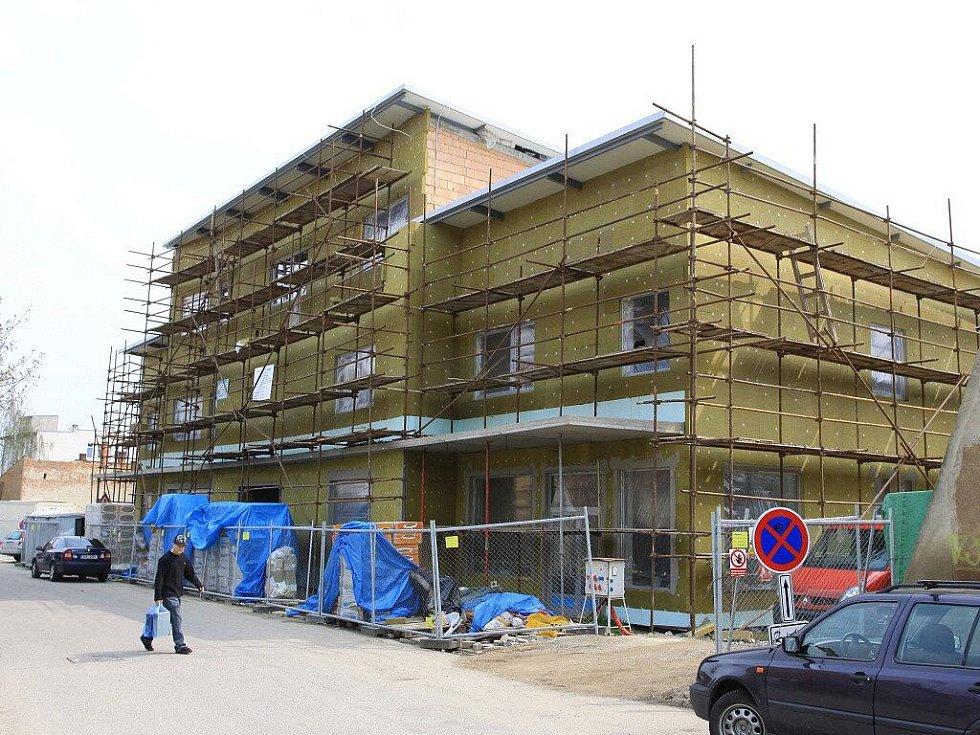 Výstavba Domu zdraví ve Vodní ulici