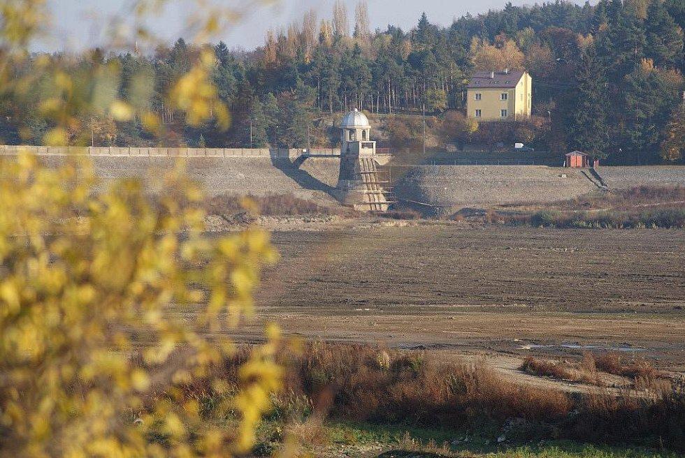 Plumlovská přehrada - 3. listopadu 2010