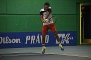 Tenisová extraliga  2018 v Prostějově. Semifinálová skupina, TK Agrofert Prostějov - TK Precheza Přerov (4:5). Michail Kukuškin