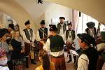 Ve středu odpoledne se v prostějovské zámecké kavárně Café zámek uskutečnila vernisáž k výstavě Hanácké zastavení.