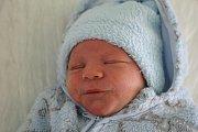 Michal Kaprál, Dětkovice, narozen 1. listopadu, míra 49 cm, váha 3200 g