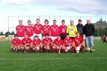 Týmové foto fotbalistů Kostelce 2010/2011