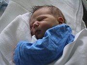 Bartoloměj Műller, Prostějov, narozen 31. srpna v Prostějově, míra 52 cm, váha 4100 g