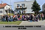 Burčákový pochod v Pivíně