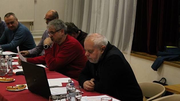 Šéf okresního fotbalu Milan Elfmark, je současně i starostou Olšan u Prostějova.