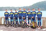 Oficiální představení kontinentálního cyklistického týmu PARDUS TUFO Prostějov.