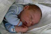 Šimon Smékal, Přemyslovice, narozen 25. května, 51 cm, 3600 g