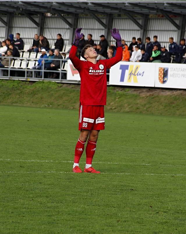 Prostějov prohrál ve 3. kole poháru doma s Bohemians 0:4.Hugo Jan Bačkovský