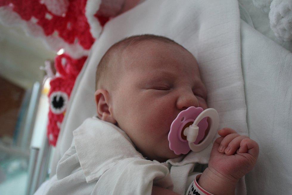 Nikola Tomanová, Lutotín, narozena 28. července 2019 v Prostějově, míra 49 cm, váha 3300 g