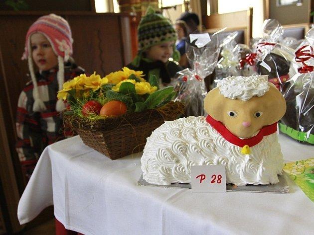 Přehlídka velikonočních beránků v Národním domě v Prostějově