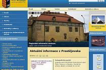 Web města Prostějova