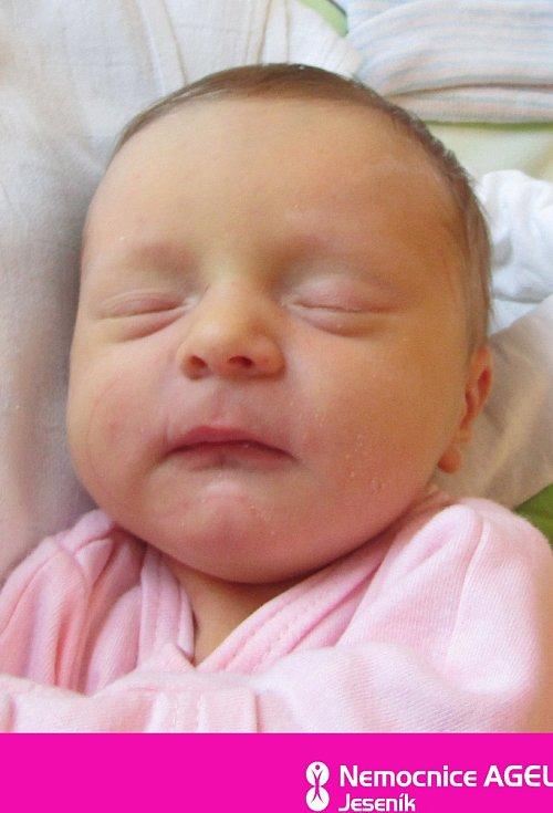 Tereza Skřivánková, Ostružná, narozena 10. dubna 2021