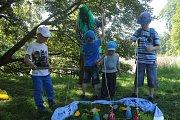 Dětský den v Čechách pod Kosířem