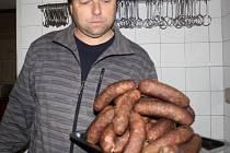 Klobása z Konice získala ocenění Regionální potravina