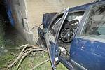 Nehoda BMW ve Stařechovicích