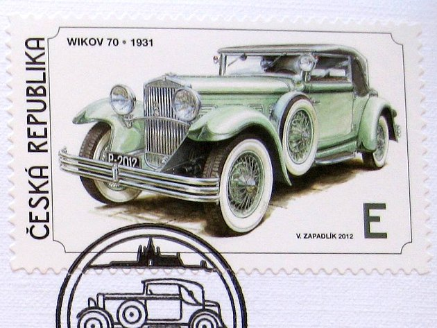 Prostějovská wikovka na poštovní známce