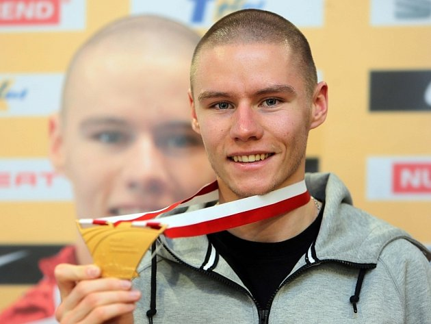 Setkání s halovým mistrem světa v atletice Pavlem Maslákem v Prostějově