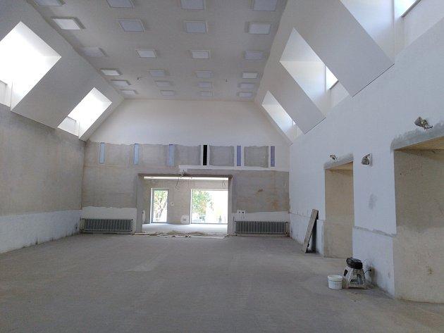 Výstavba komunitního centra vKonici - začátek června 2019