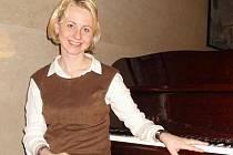 Prostějovská rodačka a klavíristka Martina Nováková