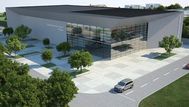 Vizualizace - Budoucí podoba Národního olympijského centra vProstějově