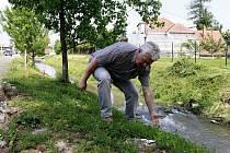 Lidé v Držovicích mají po rekonstrukci silnice obavy z velké vody