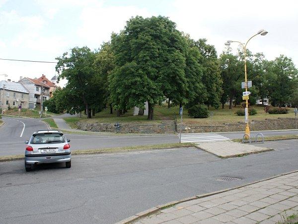 Hlavní náměstí vPlumlově - červenec 2013