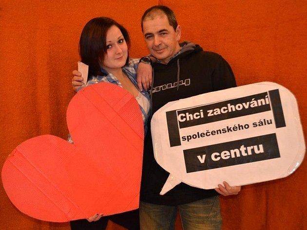 Fotopetice za zachování společenského sálu v centru Prostějova