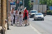 Majáles 2016 v Prostějově - průvod studentů městem